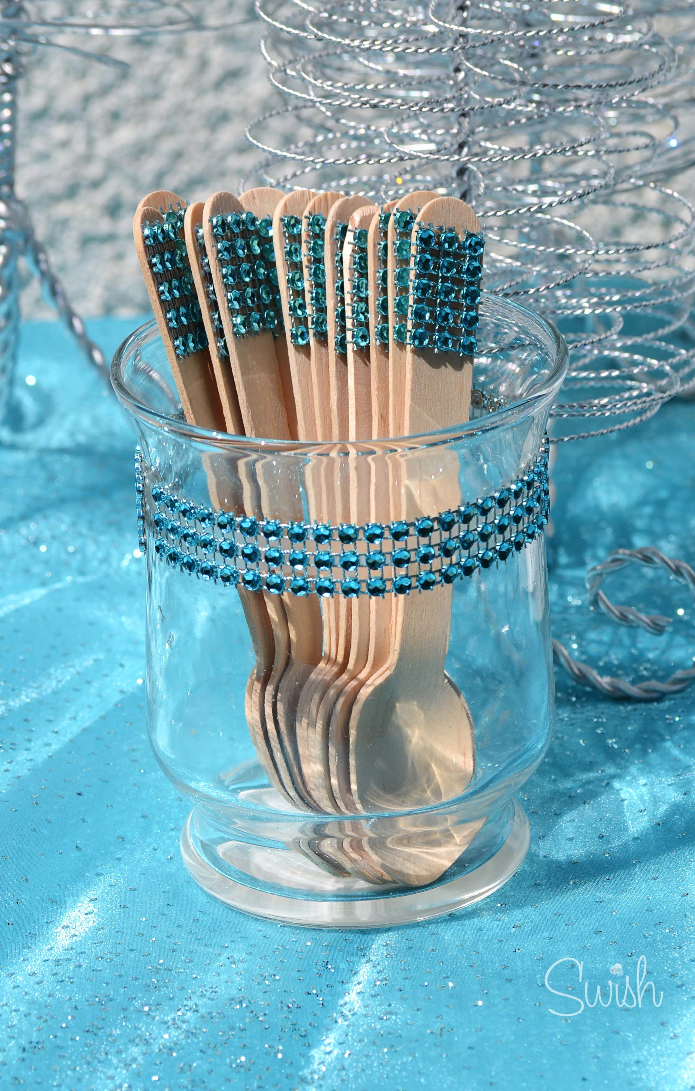 Frozen Party Snowcone Spoons Party Decor Party decorations