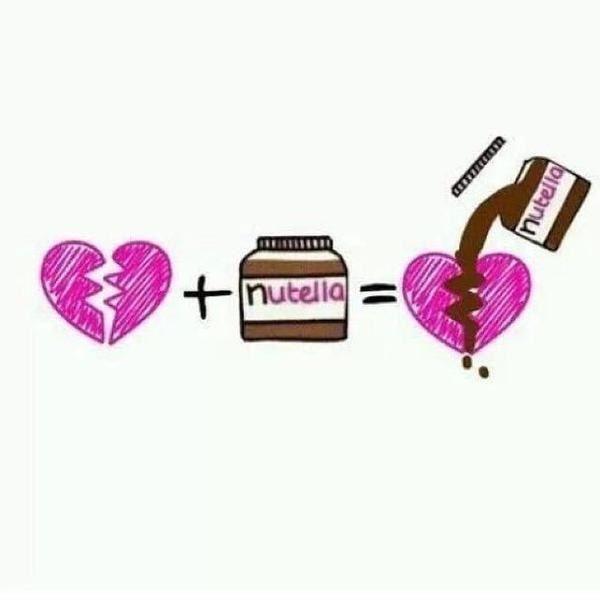18 Imagenes Que Solo Un Verdadero Amante De La Nutella Puede Entender Nutella Corazon Roto Arreglar Un Corazon Roto