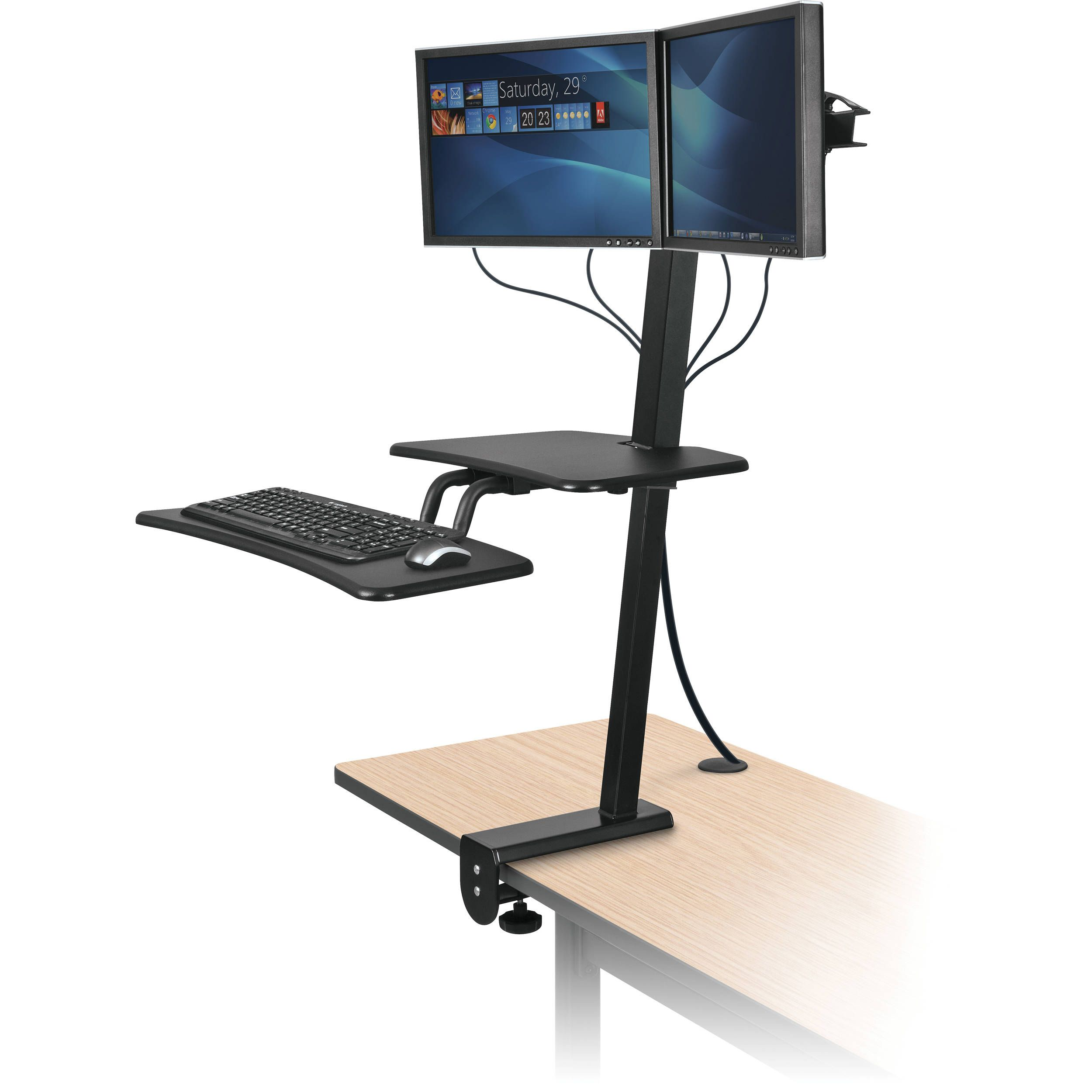 and desk black stand executive product ambience dor sit