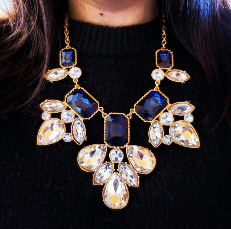 Statement necklace ~ Instagram