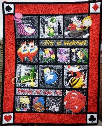 Alice Quilt Want!!!! This is sooo frickin awesome!