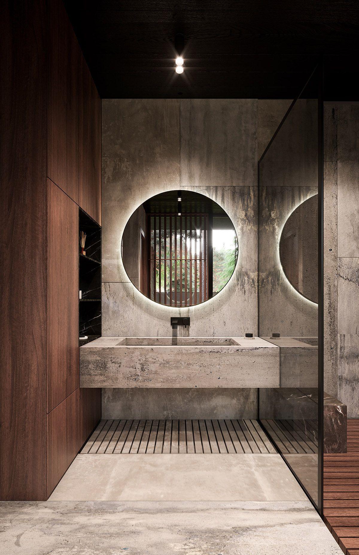 Das Beste Badezimmer Modern Pinterest Entwurf - Houz Ideen Wadudu