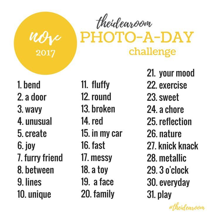 November Photo A Day Challenge 2017 is part of November Photo A Day Challenge  The Idea Room - Join us for a 365 Photo A Day Challenge  This is a great way to get out your cameras and to get creative while recording moments from your every day lives!