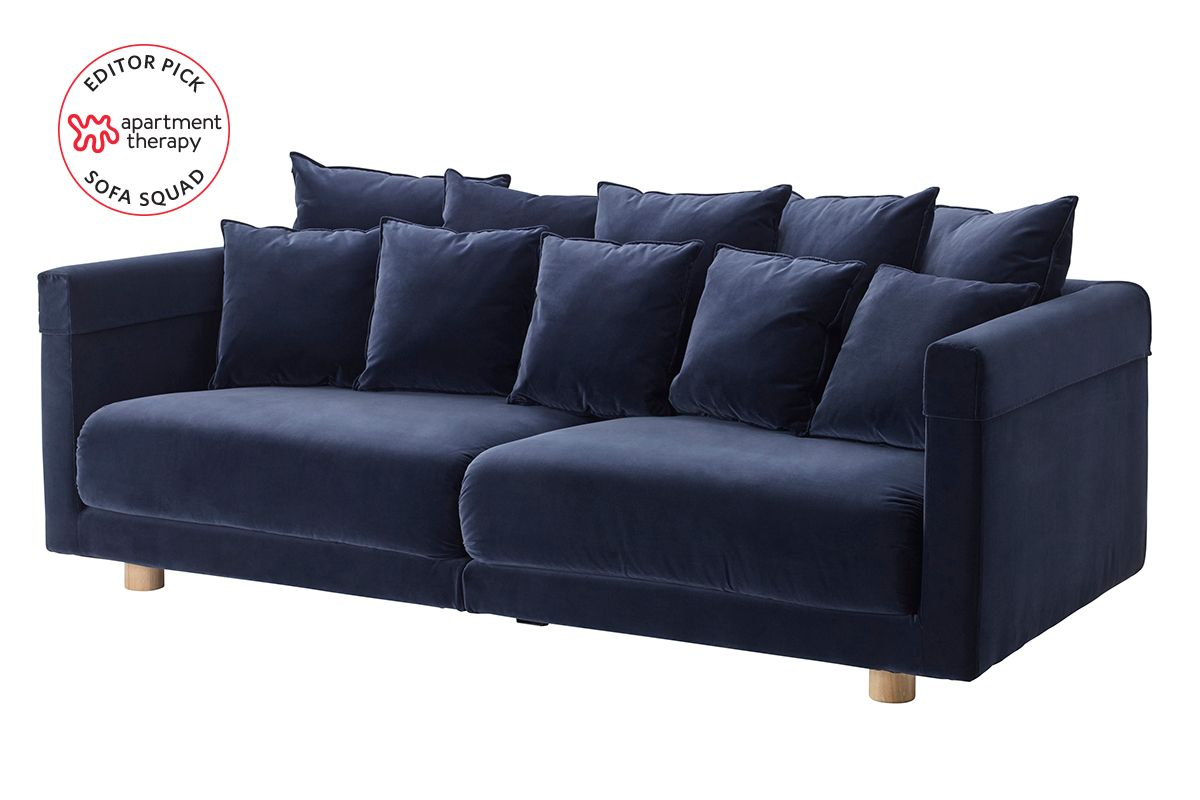 We Reviewed Ikea Sofas Irl These Are The Most Comfortable Ikea Sofa Ikea Blue Sofa Ikea Sofa Bed