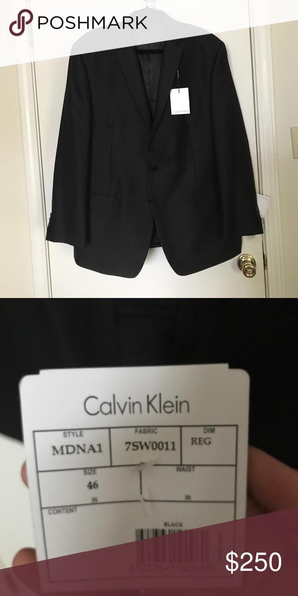 e11a56e7344 Calvin Klein Suit - black