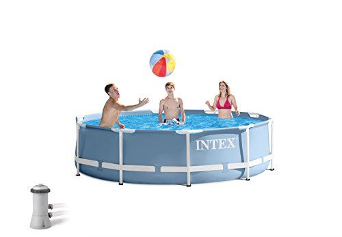 Swimming Pools - Intex 12ft X 30in Prism Frame Pool Set with Filter ...