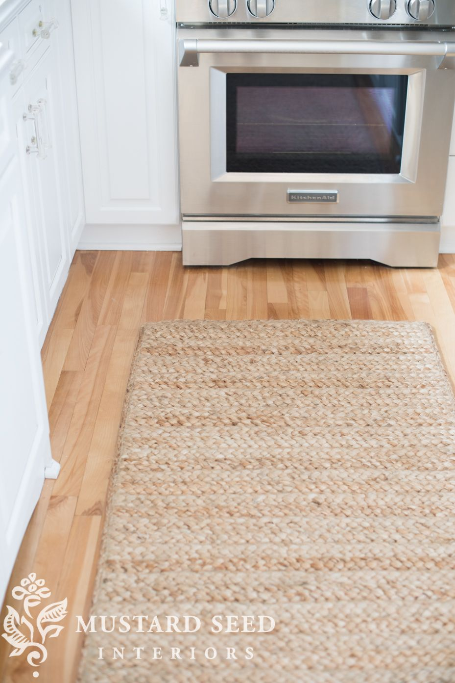 Braided Jute Kitchen Rug With Images