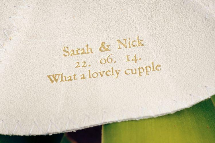 What A Lovely Cupple Great Wedding Kippah Inscription