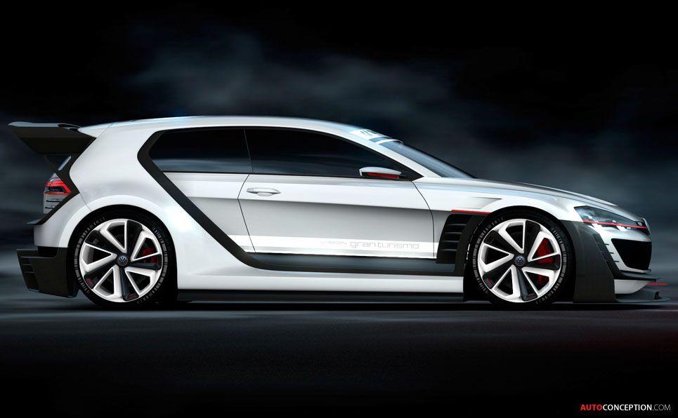 Volkswagen Unveils Gti Supersport Vision Gran Turismo Concept Autoconception Com Volkswagen Volkswagen Scirocco Volkswagen Gti