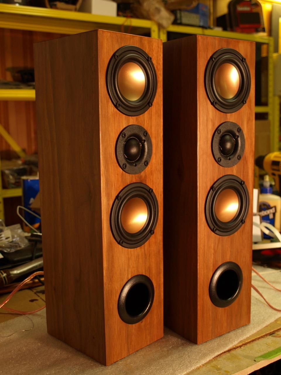 Fantastic Home Build Speakers / Hapso