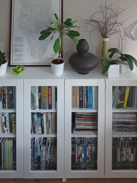 Ikea Puertas Estanteria Billy.Billy Bookcases With Grytnas Glass Doors For The Home