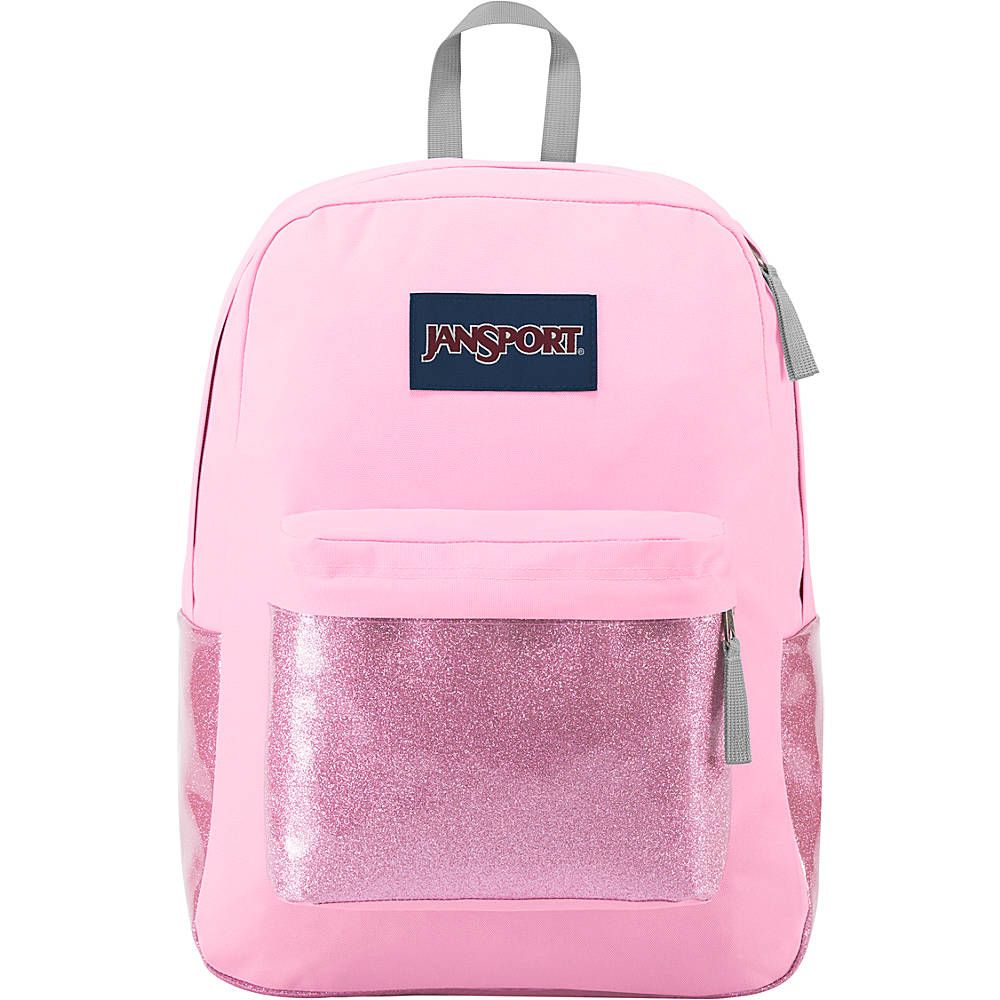 790523e2a8c6 Jansport High Stakes Backpack- Prism Pink Sparkle