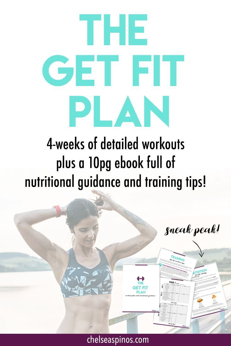 Fitness program plan including nutrition and workout tips. Are you ... 7eff7ea27