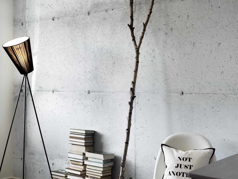 Behang betonlook bedroom pinterest zoeken google en voor het huis - Behang materieel effect ...