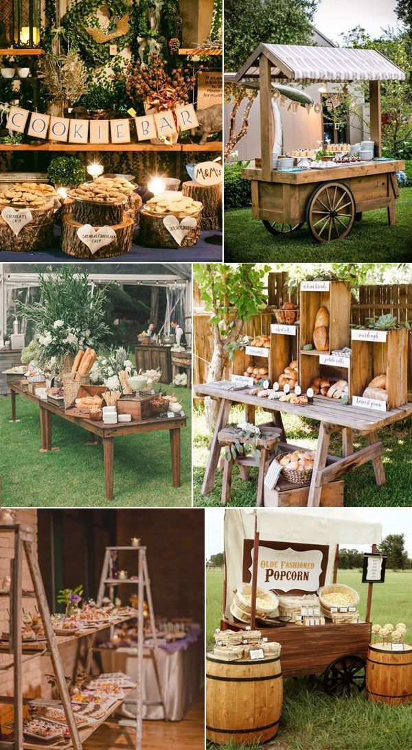 31 Admirable Wedding Food And Drink Bar Ideas - #A... - #Admirable #bar #drink #food #ideas #rustikal #Wedding #bestdrinks