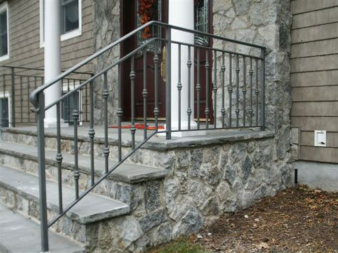 Exterior Railings | W.A. Iron Works, Inc. | Wrought Iron Railings ...