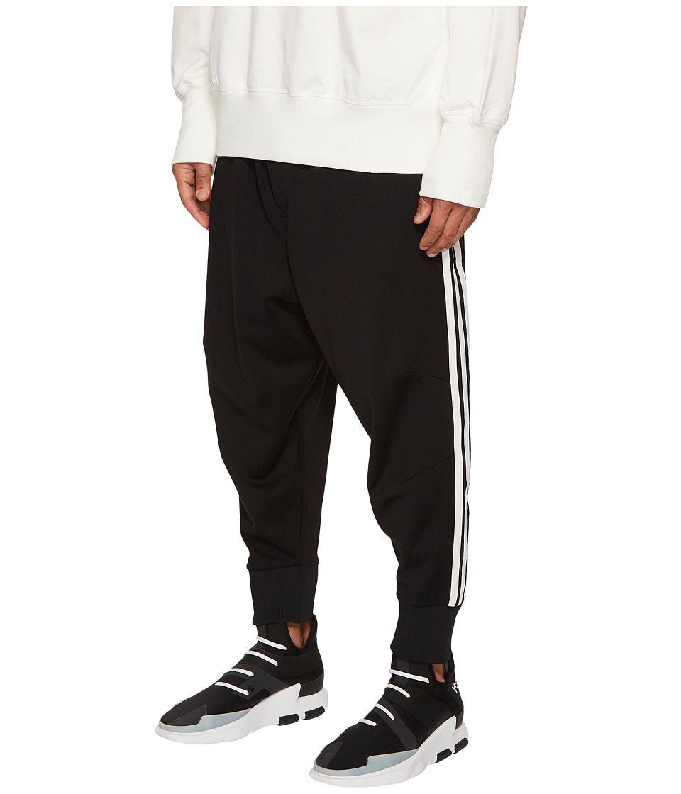 27458a4270acc adidas Y-3 by Yohji Yamamoto 3-Stripes Track Pants Men s Casual Pants Black Core  White