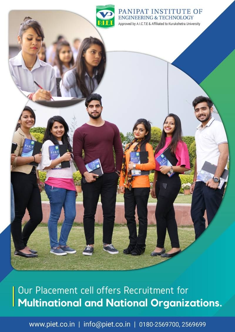 Our placement cell offers recruitment for multinational