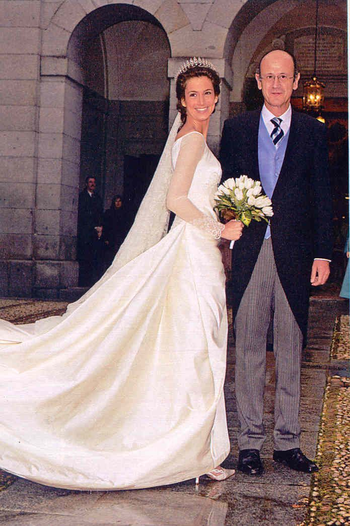 Vestidos de novia casas reales