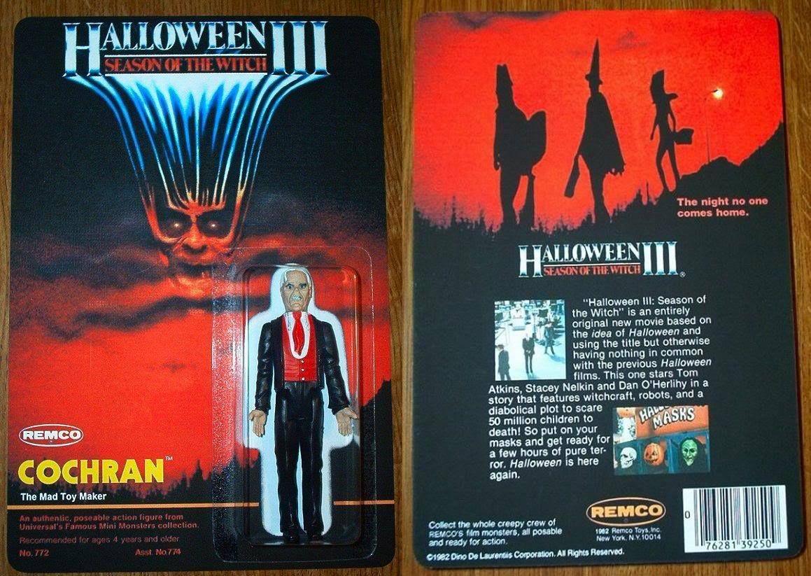 cochran toy figure halloween 3 Halloween film, Horror