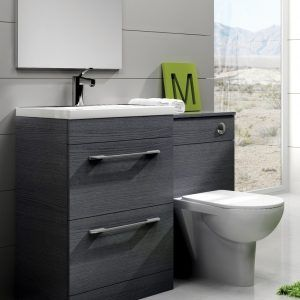 Slimline Bathroom Vanity Combination Units