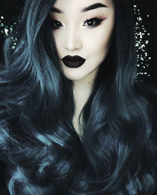 Asian goth hot