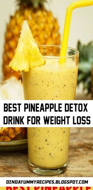 Have you tried several Pineapple detox drinks that
