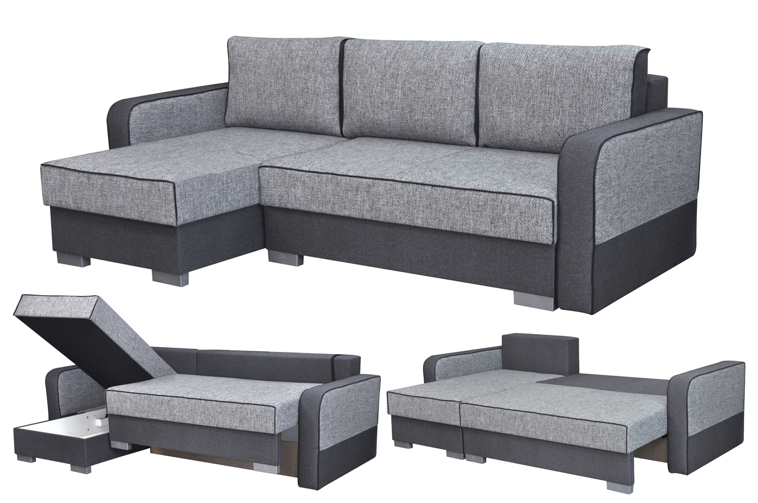 Five Corner Sofa Bed 485 Including Vat Instalments From 12 Months 0 Free Delivery