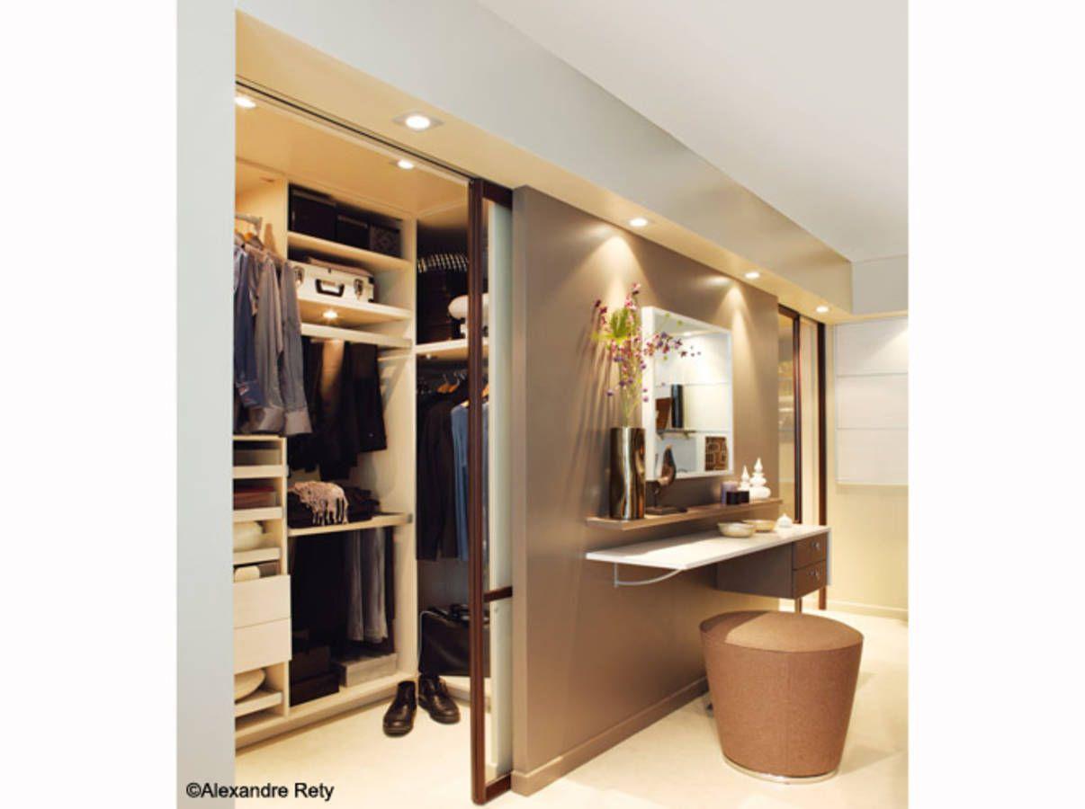 Dressing Avec Coiffeuse Intégrée 20 petits et grands dressings   idées pour la maison