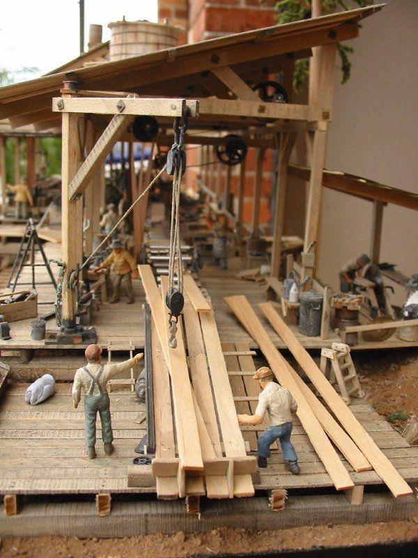 Steve Pettit - Sawmill   Worldwide Miniatures   Model ...