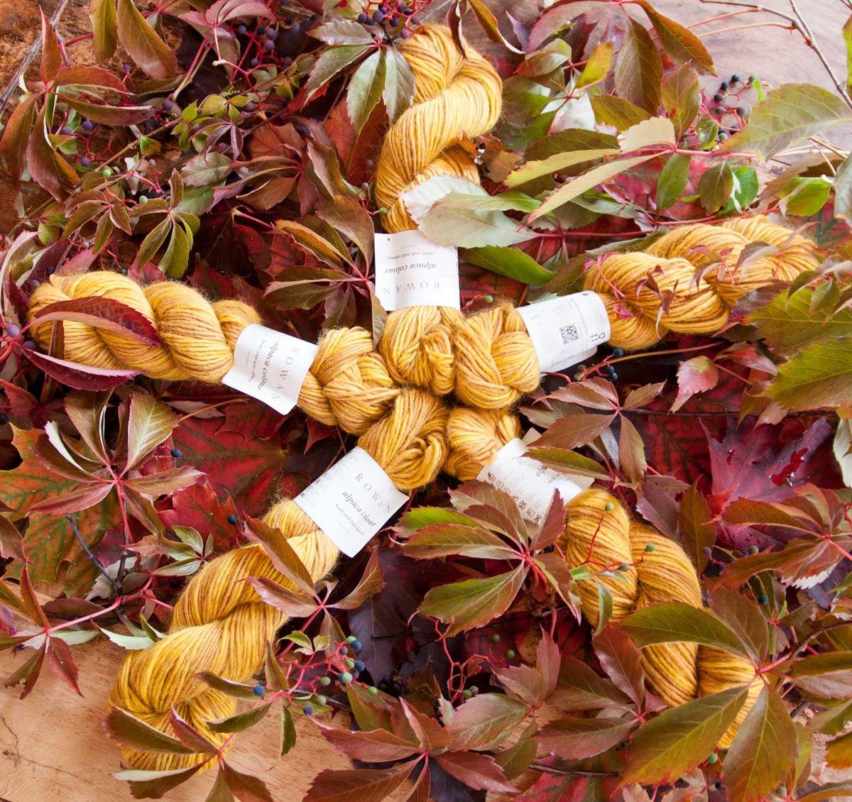 Rowan Alpaca Colour, 143 Topaz. Perfect colour for autumn!