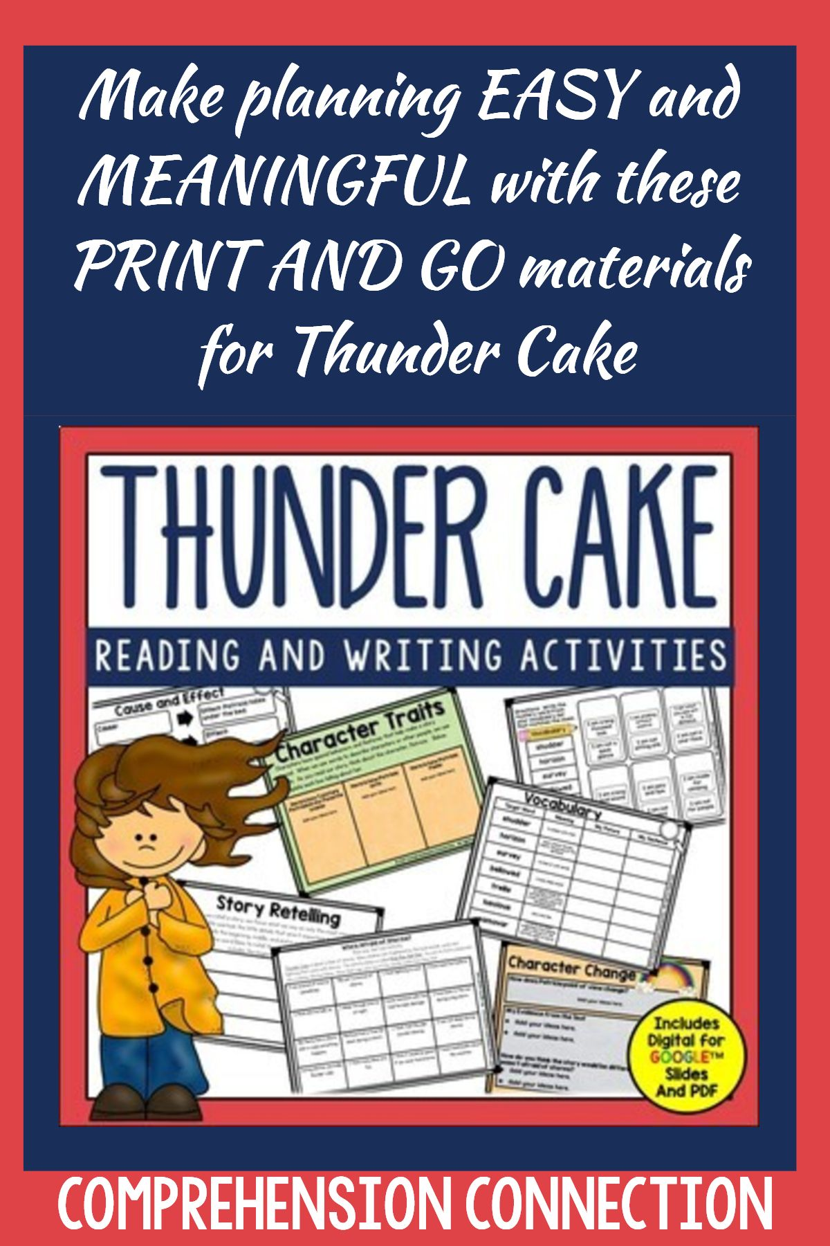 Need Meaningful Materials To Use With This Great Book Save Time And Keep Your Kids Focused With This Comp Patricia Polacco Books Mentor Texts Patricia Polacco