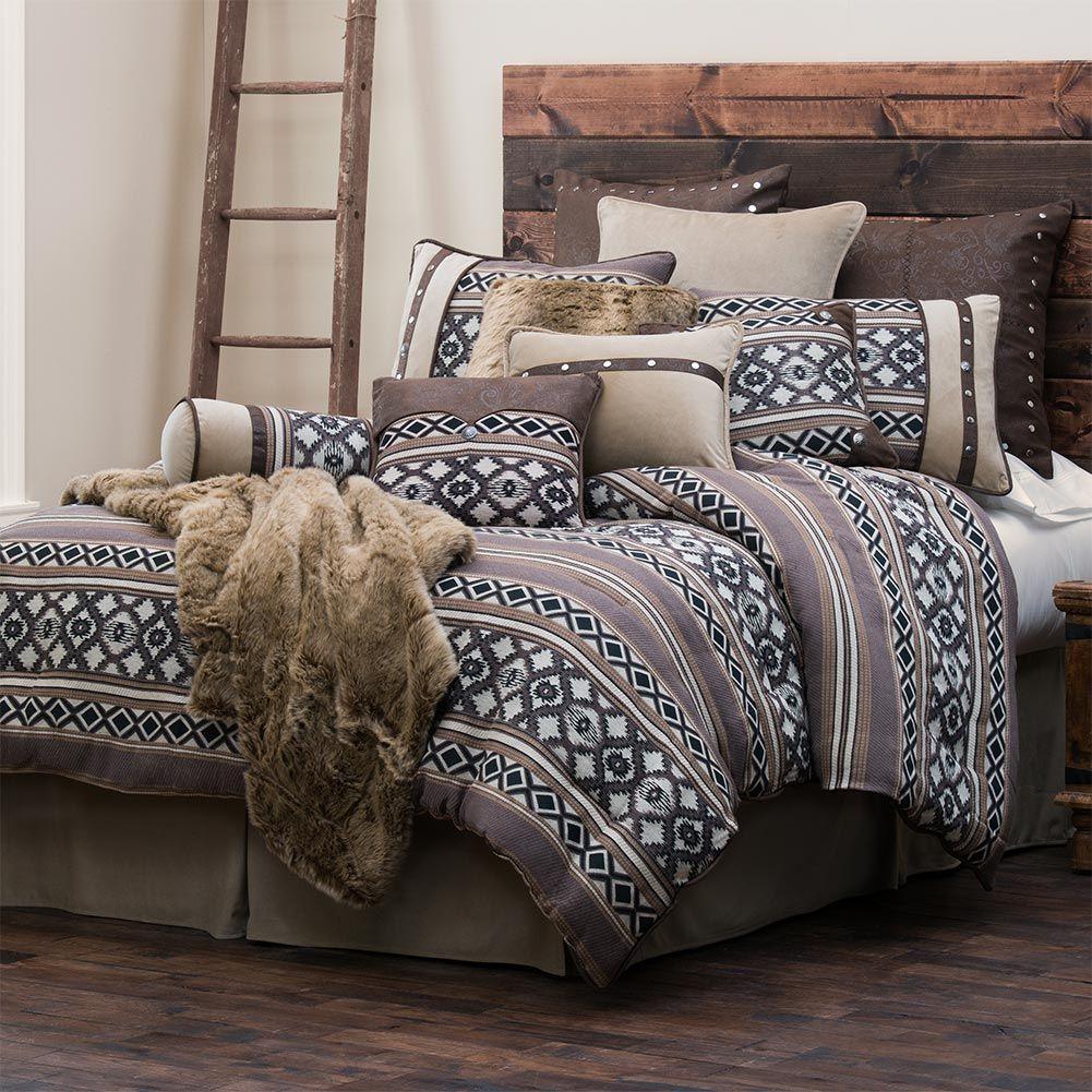 Tucson Southwestern Full Comforter Set Western bedding