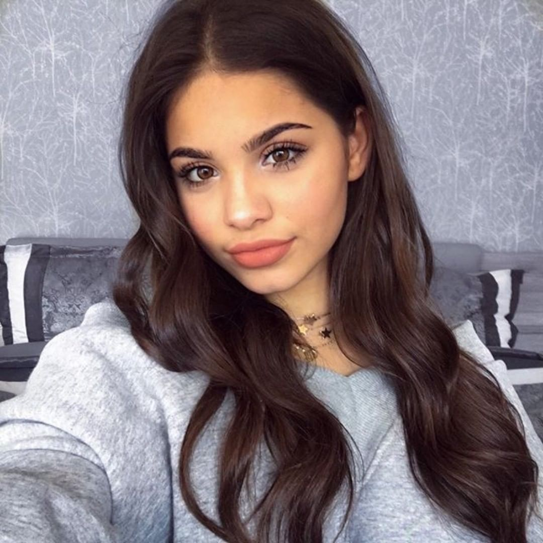 7 882 Likes 84 Comments Yasmin Amneeria On Instagram I M So Bad At Finding New Friends I Don T Know What To Do And Then I M Just Cabelo Longo Cabelo