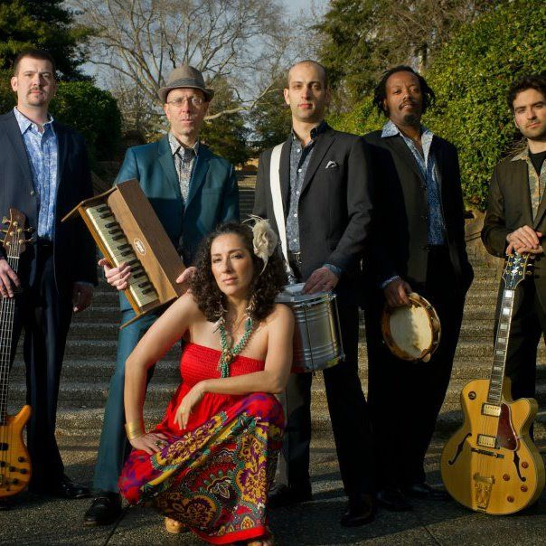 "Alma Tropicália (Portuguese for ""Tropicália soul"") combines traditional Brazilian rhythms with psychedelic pop and plays on July 13 at Reston Town Center"