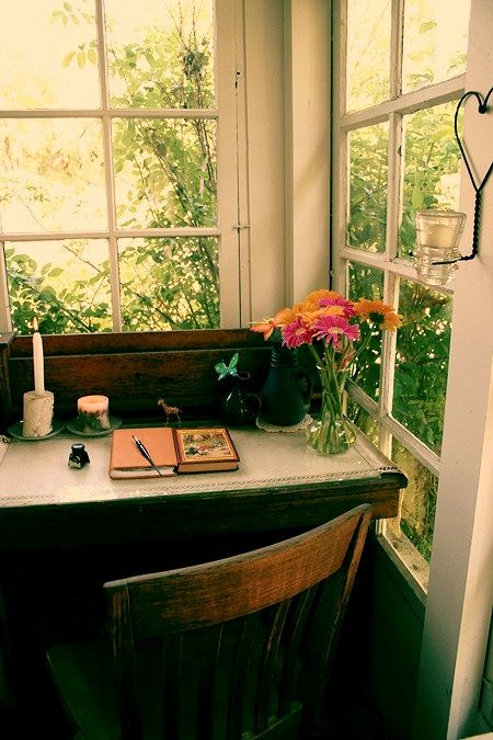 because every writer should have a desk under a window