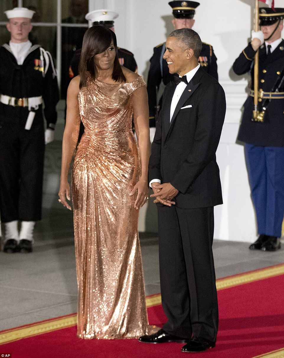 f8cb37107e ... moment  for the Obamas on Tuesday as they welcomed Italian Prime  Minister Matteo Renzi and his wife for an official visit and the final state  dinner of ...