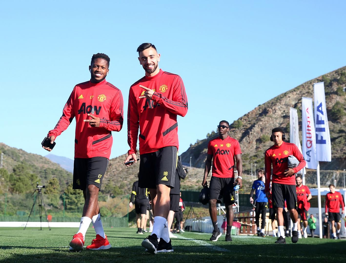 Day Two Of Man Utd Training In Spain 10 February 2020 Manchester United In 2020 Manchester United Manchester United Training Manchester United Wallpaper