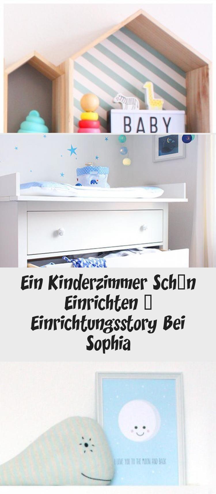 Kinderzimmer von Sophia bunte Haus Regale Babyzimmer