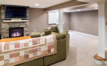 Basement remodeling in Fridley, Andover, Lino Lakes, Maple Grove, Osseo, Owatonna, Ellendale, MN.