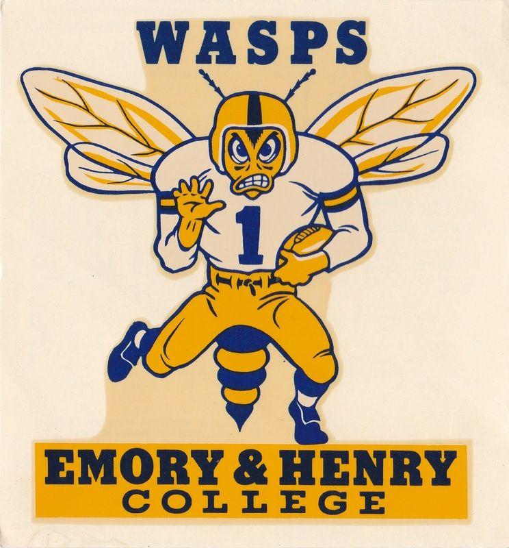 Decals vintage college memorabilia Football logo