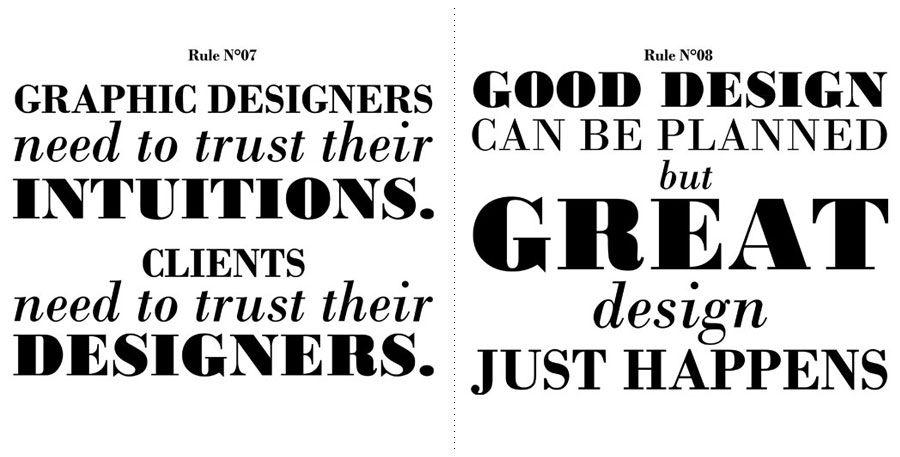 #design #rules
