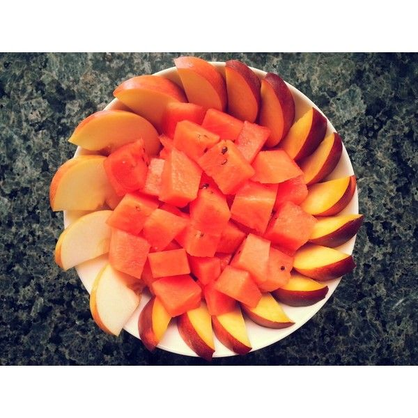 Apples and watermelon | Tumblr via Polyvore