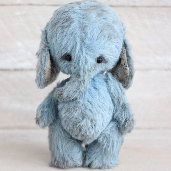 "Teddy Elephant pattern -Teddy elephant ""Jacob"".Teddy bear ..."