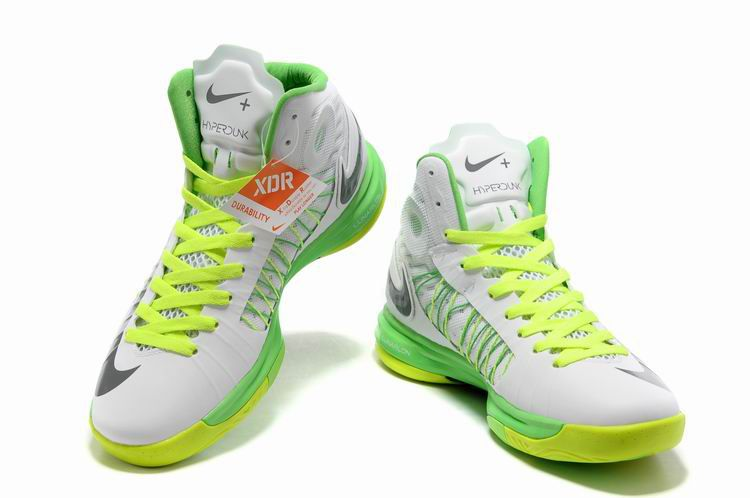 Hot Sale Nike Hyperdunk The Olympic Version 2012 Men Green White War Boots