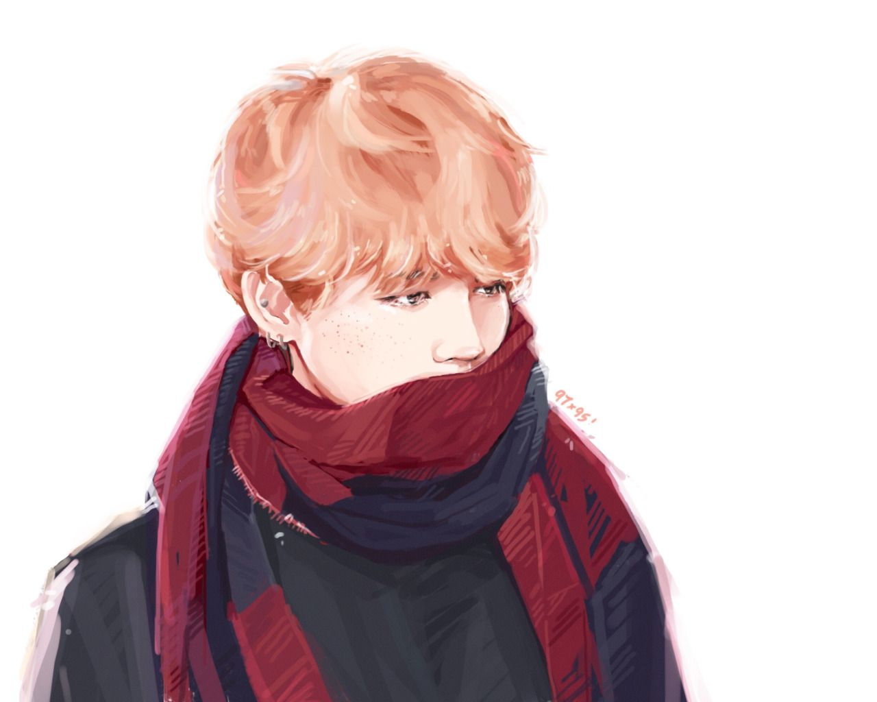 Park Jimin Beautiful Fanart