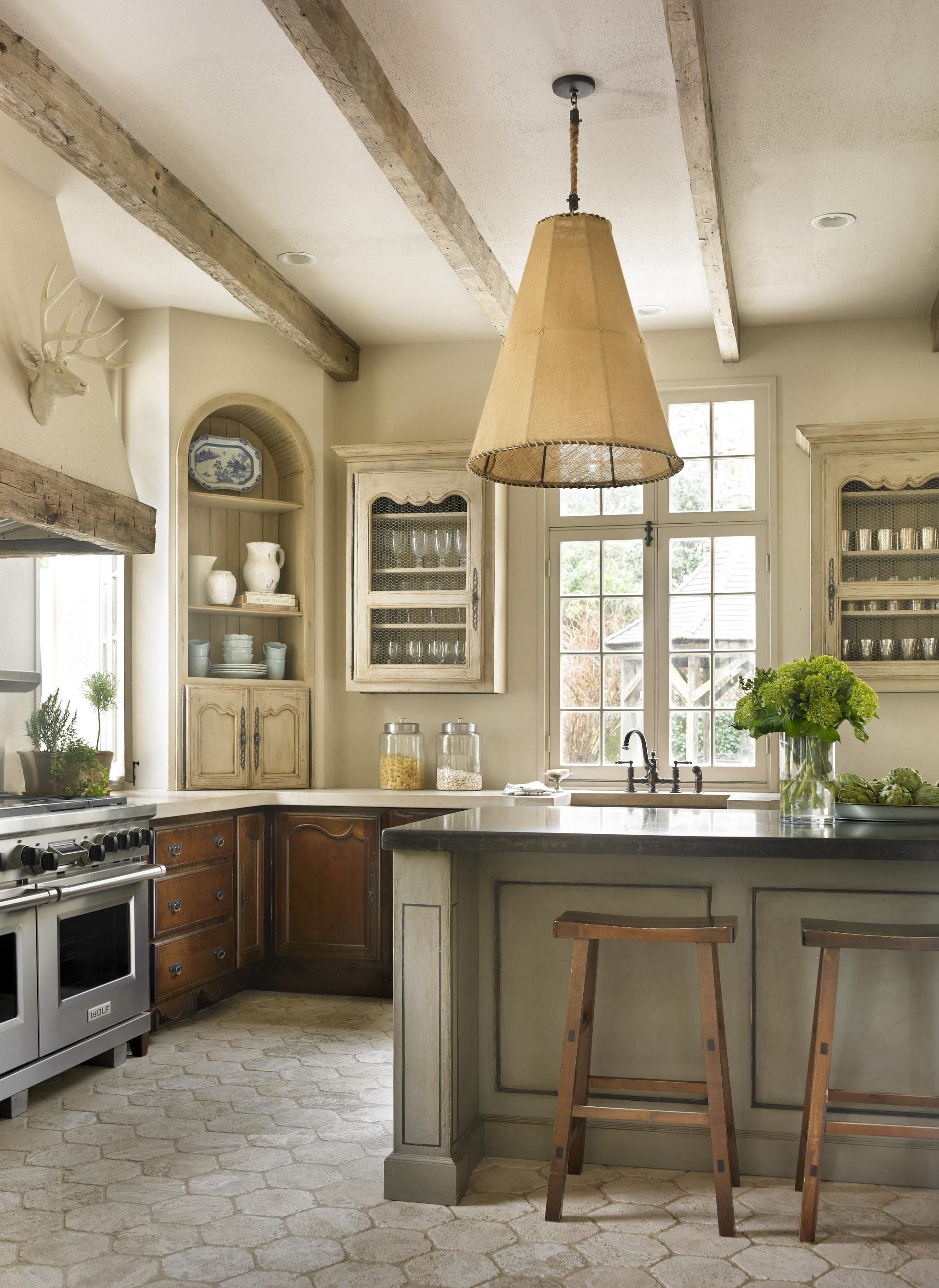 Country French Kitchens French country decorating