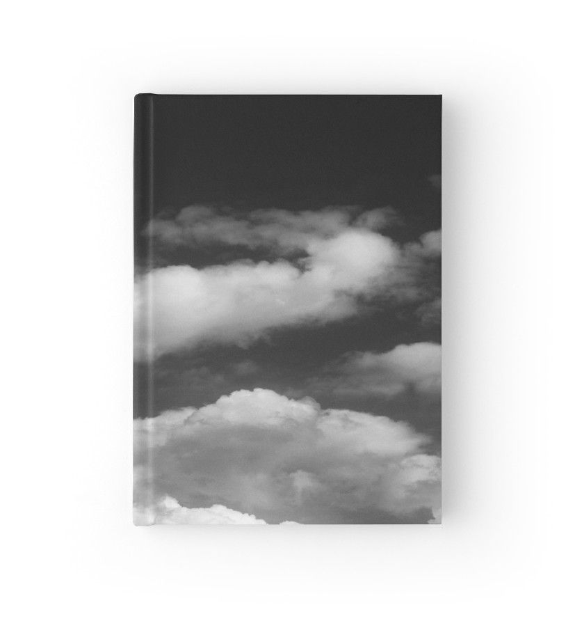 Nephelai Series Clouds In Black And White Hardcover Journal By By Jwp In 2021 Black And White Journal Stationary Clouds