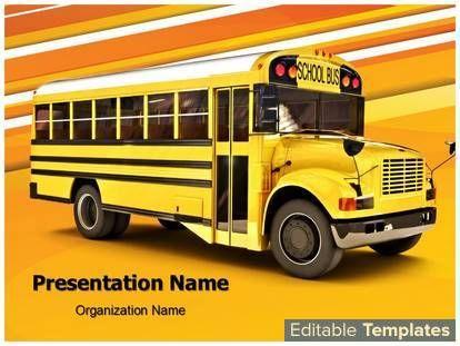 School bus powerpoint presentation templates powerpoint themes school bus powerpoint presentation templates powerpoint themes associated with education school school transportation toneelgroepblik Images