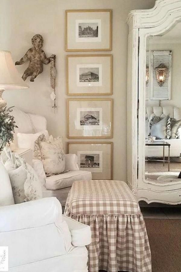 French Country Cottage Decorating Blog Frenchcountrydecorating Frenchcountrybedroom French Country Living Room Country Living Room Farm House Living Room